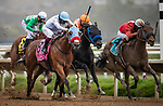 """AUG 01: Collusion Illusion with Flavien Prat win the Bing Crosby Stakes, a Breeders' Cup """"Win and You're In"""" event, at Del Mar Thoroughbred Club in Del Mar, California on August 01, 2020. Evers/Eclipse Sportswire/CSM"""
