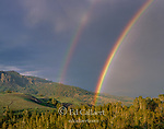 Rainbow, Sonoran Pass, Carson-Iceberg Wilderness, Stanislaus National Forest, Sierra Nevada Mountains, California