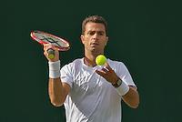 London, England, 30 june, 2016, Tennis, Wimbledon, Jean-Julien Rojer (NED)<br /> Photo: Henk Koster/tennisimages.com