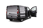4 Doors of 2015 Opel Vivaro Edition 4 Door Cargo Van 2WD Stock Photo