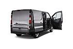 4 Doors of 2015 Opel Vivaro Edition 4 Door Cargo Van 2WD Stock Photo