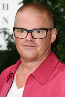 Heston Bumenthal<br /> arrives for the One for the Boys charity fashion event at the V&A Museum, London.<br /> <br /> <br /> ©Ash Knotek  D3133  12/06/2016