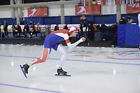SPEEDSKATING: Calgary, The Olympic Oval, 07-02-2020, ISU World Cup Speed Skating, 1500m Men Division B, Cornelius Kersten (GBR), ©foto Martin de Jong