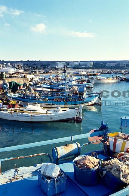Agia Napa, Aya Napa, Fishing Harbour,  Fischerhafen, Cyprus, Zypern