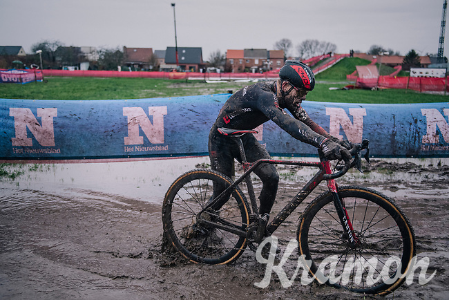 Steve Chainel (FRA)<br /> <br /> UCI cyclo-cross World Cup Dendermonde 2020 (BEL)<br /> <br /> ©kramon