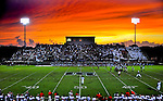 While photographing the first Madison Bowl Football Jamboree between Bob Jones and North Gwinnett at the Madison City Stadium, I noticed the sky behind the home team stands.  I left the field and climbed the visitor bleachers on the opposite side of the field to capture this incredible sunset that most Bob Jones fans never saw because they were watching the game and it was behind them. Sometimes you have to step back from what you are doing and look at the big picture. (Bob Gathany / The Huntsville TImes)