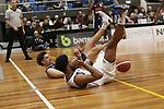 NELSON, NEW ZEALAND -JUNE 30: NBL Basketball Mike Pero Nelson Giants v Wellington Saints ,Trafalgar Centre,Wednesday 30 June 2021,Nelson New Zealand. (Photo by Evan Barnes Shuttersport Limited)