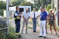 11.08.2015: MdB Franz-Josef Jung besucht den THW Groß-Gerau