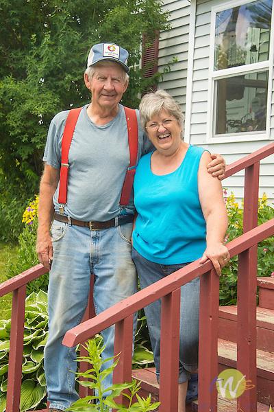 Bill and Cindy Ranta, Tenny Hill Farm, Monson, ME