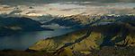 Lake Hawea in the Otago Region of New Zealand.