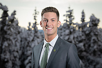 UAA University Relations PR and marketing manager Austin Osborne.