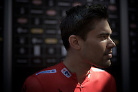 Tom Dumoulin (NLD/Giant-Alpecin) 'profiled' before the start<br /> <br /> stage 19: Medina del Campo - Avila (186km)<br /> 2015 Vuelta à Espana