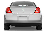 Straight rear view of a 2008 Pontiac G6 Sedan GT