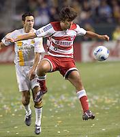 FC Dallas MID Juan Toja in action during a MLS match. FC Dallas beat the LA Galaxy 2-1 at the Home Depot Center in Carson, California, Thursday, April 12, 2007.