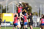 NELSON, NEW ZEALAND - SEPTEMBER 12: Farah Palmer Cup- Mako v Wellington Saturday 12 September  2020 , Lansdowne Park Blenheim New Zealand. (Photo by/ Shuttersport Limited)