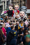 © Joel Goodman - 07973 332324 . 14/06/2015 . Manchester , UK . Manchester Day parade and festival through Manchester City Centre . Photo credit : Joel Goodman