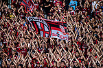 AC Milan fans from China during the 2017 International Champions Cup China  match between FC Bayern and AC Milan at Universiade Sports Centre Stadium on July 22, 2017 in Shenzhen, China. Photo by Marcio Rodrigo Machado / Power Sport Images