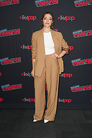 """NEW YORK CITY - OCTOBER 9:   Olivia Thirlby attends a 2021 New York Comic Con event for FX's """"Y: The Last Man"""" at the Javits Center on October 9, 2021 in New York City.  (Photo by Ben Hider/FX//PictureGroup)"""