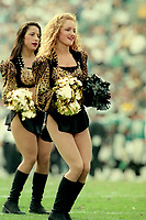 Jacksonville Jaguar cheerleaders, NFL AFC Championship game, which the Tennessee Titans won over the Jacksonville Jaguars 33-14 on January 23, 2000 in Jacksonville, FL.  (Photo by Brian Cleary/bcpix.com)
