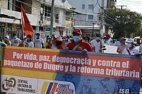SANTA MARTA- COLOMBIA, 19-05-2021: Paro Nacional. / the third National Strike. Photo: VizzorImage / Gustavo Pacheco / Contribuidor