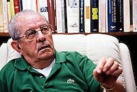Ex. Senador Jarbas Passarinho durante entrevista em sua casa em Brasília. Brasília - DF Foto Paulo Santos/Interfotonov / 2001