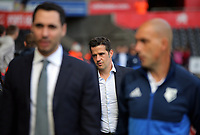 Watford manager Marco Silva arrives prior to the game during the Premier League match between Swansea City and Watford at The Liberty Stadium, Swansea, Wales, UK. Saturday 23 September 2017