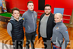 Pictured in the IT Tralee campus before the closure on Thursday were l-r: Michael Ahern, Jason O'Byrne, Joseph Kavanagh and Petrina Comerford.
