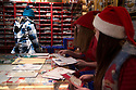 03/12/15<br /> <br /> Santa' s Post Office.<br /> <br /> Sick children are flown from East Midlands Airport to visit Santa and spend the day in Lapland. When You Wish Upon A Star have been arranging these festive flights for 24 years.<br />  <br /> All Rights Reserved: F Stop Press Ltd. +44(0)1335 418365   +44 (0)7765 242650 www.fstoppress.com
