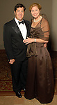 Geoff and Catherine King at the Houston Symphony's opening night gala dinner at The Corinthian Saturday Sept. 12, 2009. (Dave Rossman/For the Chronicle)
