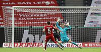 FCB Torwart , Torhüter , Goalkeeper , Manuel Neuer , Zweikampf , Duell , Bayer Leon Bailey , Torschuss , Torchance , Chance , Schuss , Tormöglichkeit , <br /> <br /> firo, Sport, Fussball, Pokalfinale: Saison 2019/2020, 04.07.2020<br /> DFB-Pokal Finale der Herren<br /> Bayer Leverkusen - FC Bayern München , Muenchen<br /> <br /> Foto: <br /> Jürgen Fromme / firosportphoto / POOL / Marc Schueler / Sportpics.de<br /> <br /> Nur für journalistische Zwecke! Only for editorial use!