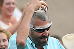 30 August 2009: Trainer Julio Canani after Spring House and Alex Solis win the Del Mar Handicap at Del Mar Race Track, Del Mar, CA