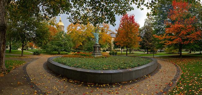 Oct. 23, 2013; Main Quad <br /> <br /> Photo by Matt Cashore/University of Notre Dame
