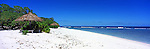Kiribati Panorama - Resort beach on Kiritimati (Christmas Island) <br /> <br /> Image taken on large format panoramic 6cm x 17cm transparency. Available for licencing and printing. email us at contact@widescenes.com for pricing.