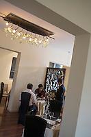 "Europe/France/Rhône-Alpes/42/Loire/Saint-Just Saint-Rambert: Restaurant ""Le Neuvième Art"" la salle"