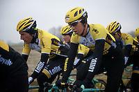 Sep Vanmarcke (BEL/LottoNL-Jumbo)<br /> <br /> 2015 Omloop Het Nieuwsblad recon by Team LottoNL-Jumbo