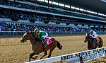September 29, 2018 :  US Navy Flag, ridden by Jose Ortiz, wins a maiden race on the undercard on Jockey Club Gold Cup Day at Belmont Park on September 29, 2018 in Elmont, New York. Scott Serio/Eclipse Sportswire/CSM September 29, 2018 :  US Navy Cross, ridden by Jose Ortiz, wins a maiden race on the undercard on Jockey Club Gold Cup Day at Belmont Park on September 29, 2018 in Elmont, New York. Scott Serio/Eclipse Sportswire/CSM