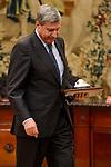 """Jose Luis Garcia Garrido during the """"Premio de Economía Rey Juan Carlos"""" to Jose Luis Garcia Delgado at Banco de España in Madrid. November 17, Spain. 2016. (ALTERPHOTOS/BorjaB.Hojas)"""