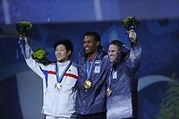 SPEEDSKATING: Shani Davis OS Vancouver 2010