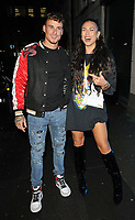 guest and Emily Faye Miller at the boohooMan Love Island Party, boohoo, Great Portland Street, on Thursday 07th October 2021, in London, England, UK. <br /> CAP/CAN<br /> ©CAN/Capital Pictures