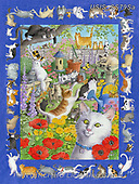 Ingrid, REALISTIC ANIMALS, REALISTISCHE TIERE, ANIMALES REALISTICOS, zeich1, paintings+++++,USISSS79SA,#a#, EVERYDAY,fairy,cats