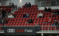 WASHINGTON, DC - MAY 13: D.C. United Fans during a game between Chicago Fire FC and D.C. United at Audi FIeld on May 13, 2021 in Washington, DC.