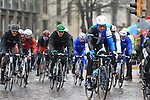 The pelethon including Mark Renshaw (AUS) Blanco Pro Cycling Team pass through Pavia during the 104th edition of the Milan-San Remo cycle race, 17th March 2013 (Photo by Eoin Clarke 2013)