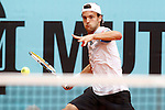 Joao Sousa during Madrid Open Tennis 2015 match.May, 4, 2015.(ALTERPHOTOS/Acero)