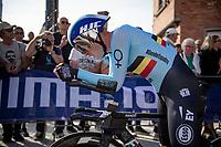 Ben Hermans (BEL/Israel Start-Up Nation)<br /> <br /> Mixed Relay TTT <br /> Team Time Trial from Knokke-Heist to Bruges (44.5km)<br /> <br /> UCI Road World Championships - Flanders Belgium 2021<br /> <br /> ©kramon