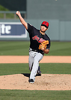 Shao-Ching Chiang - Cleveland Indians 2019 spring training (Bill Mitchell)