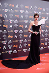 Nieves Alvarez attends to the Red Carpet of the Goya Awards 2017 at Madrid Marriott Auditorium Hotel in Madrid, Spain. February 04, 2017. (ALTERPHOTOS/BorjaB.Hojas)