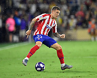 Orlando, FL - Wednesday July 31, 2019:  Kieran Trippier #23 during an Major League Soccer (MLS) All-Star match between the MLS All-Stars and Atletico Madrid at Exploria Stadium.