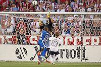 Sandy, Utah - Tuesday, June 18, 2013: USMNT vs Honduras at Rio Tinto Stadium during a WC qualifying match.
