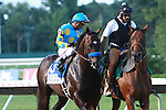 Favorite Paynter with Rafael Bejarano aboard win the 45th running of the $1,000,000 Grade I Haskell Invitational for 3-year olds, going 1 1/8 mile. Trainer Bob Baffert.  Owner Zayat Stables