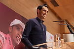 Spanish biker Alberto Contador during a special event for winning the 2015 Giro d'Italia, Tour of Italy cycling race, in Madrid, Spain. June 01, 2015. (ALTERPHOTOS/Victor Blanco)